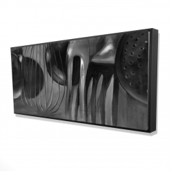 Framed 24 x 48 - 3D - Kitchen tools