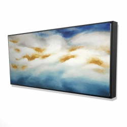 Framed 24 x 48 - 3D - Abstract landscape