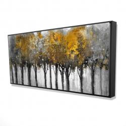 Framed 24 x 48 - 3D - Illuminated forest