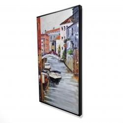 Framed 24 x 48 - 3D - Venetian landscape