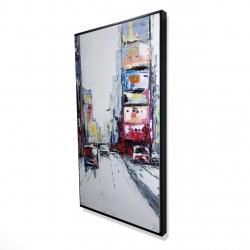 Framed 24 x 48 - 3D - Time square