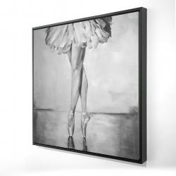 Framed 24 x 24 - 3D - Ballet classic steps