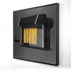 Framed 24 x 24 - 3D - Fresh pasta machine