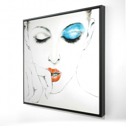 Framed 24 x 24 - 3D - Pure style
