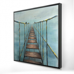 Framed 24 x 24 - 3D - In the jungle