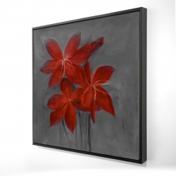 Framed 24 x 24 - 3D - Asiatic lily