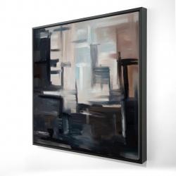 Framed 24 x 24 - 3D - Subtil