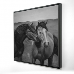 Framed 24 x 24 - 3D - Tenderness