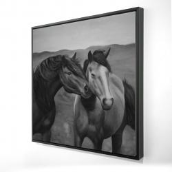 Framed 24 x 24 - 3D - Tenderness