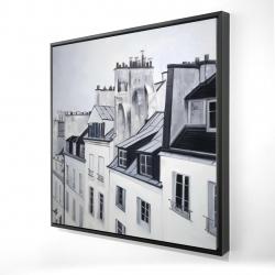 Framed 24 x 24 - 3D - Historical buildings
