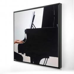 Framed 24 x 24 - 3D - Melody