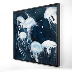 Framed 24 x 24 - 3D - Medusa