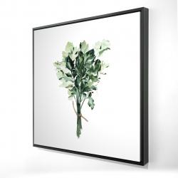 Framed 24 x 24 - 3D - Tied up persil bundle