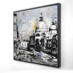 Framed 24 x 24 - 3D - Basilica of santa maria della salute