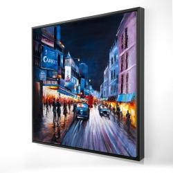 Framed 24 x 24 - 3D - Cabaret evening