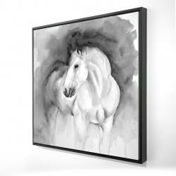 Framed 24 x 24 - 3D - Beauty