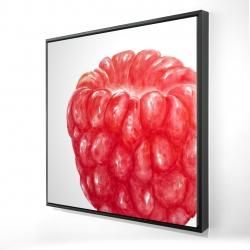 Framed 24 x 24 - 3D - Raspberry