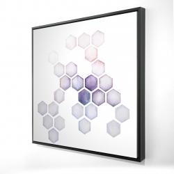 Framed 24 x 24 - 3D - Alveoli