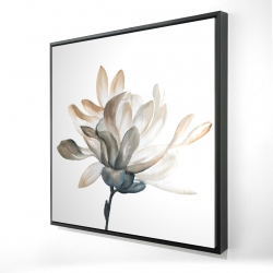 Framed 24 x 24 - 3D - Softness