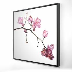 Framed 24 x 24 - 3D - Branch of cherry blossoms