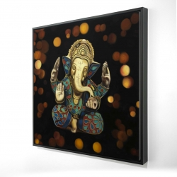 Encadré 24 x 24 - 3D - Ganesh