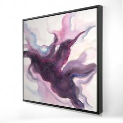 Framed 24 x 24 - 3D - Milky way
