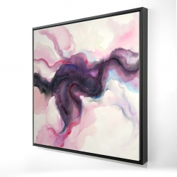 Framed 24 x 24 - 3D - Celestial body