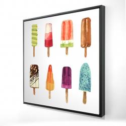 Iced lollipop