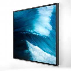 Framed 24 x 24 - 3D - Unleashed sea