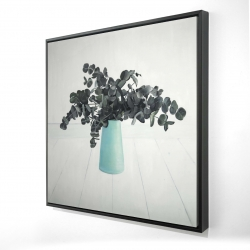 Framed 24 x 24 - 3D - Bouquet of eucalyptus