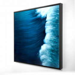 Framed 24 x 24 - 3D - Wave