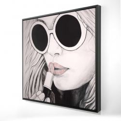 Framed 24 x 24 - 3D - Incognito