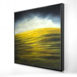 Framed 24 x 24 - 3D - Hillock