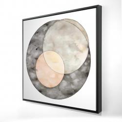 Framed 24 x 24 - 3D - Interlocking