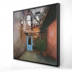 Framed 24 x 24 - 3D - Cozy little place