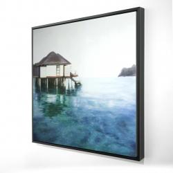 Framed 24 x 24 - 3D - Dream travel