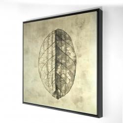 Framed 24 x 24 - 3D - Translucent