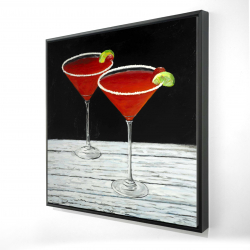 Framed 24 x 24 - 3D - Cosmopolitan