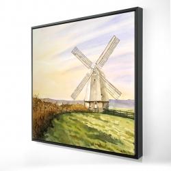 Framed 24 x 24 - 3D - Morning breeze