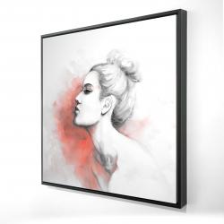 Framed 24 x 24 - 3D - Deliberation