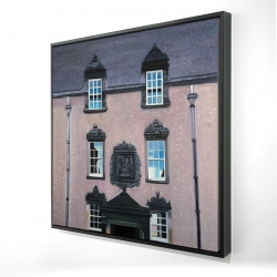 Framed 24 x 24 - 3D - Argyll's lodging at stirling castle