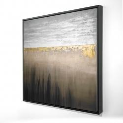 Framed 24 x 24 - 3D - Gilding