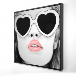Framed 36 x 36 - 3D - Miss trend