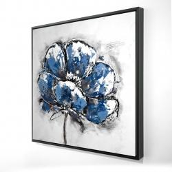 Framed 24 x 24 - 3D - Small flower