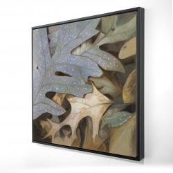 Framed 24 x 24 - 3D - Autumn leaves