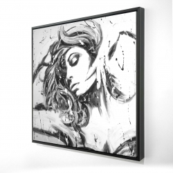 Framed 24 x 24 - 3D - Dance all night