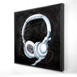 Encadré 24 x 24 - 3D - écouteur