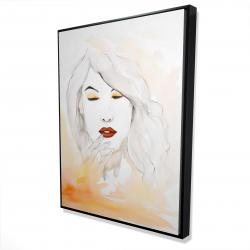 Framed 36 x 48 - 3D - Portrait in watercolor
