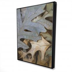 Framed 36 x 48 - 3D - Autumn leaves