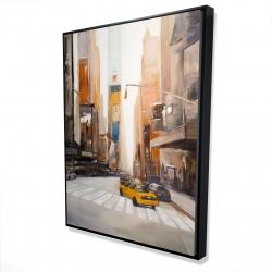 Framed 36 x 48 - 3D - New-york city center